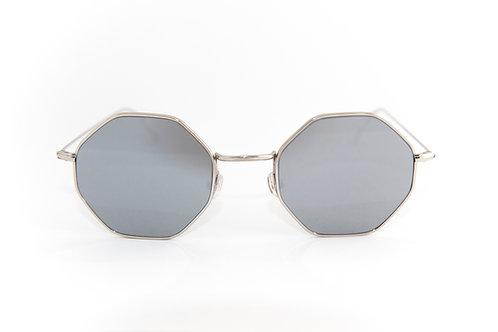 Paul C02 Shiny silver - Silver zero flash lens