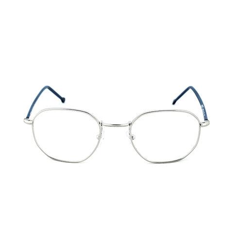 Verga C02 Blue Shiny Silver