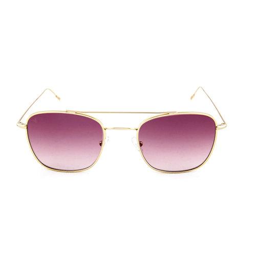 Capri C03 Shiny yellow gold - Purple degrade lens