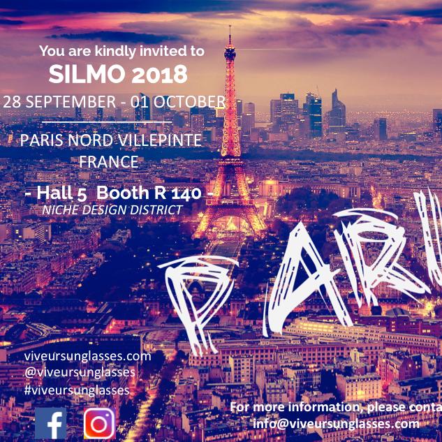 SILMO PARIS 2018