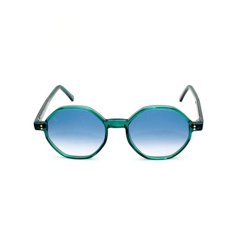 Porto Cervo C05 Green - Azure Degrade lenses