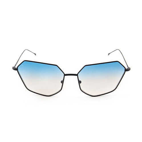 Cher C01 Black - L.Blue/L.Brown Degrade Zero Lens