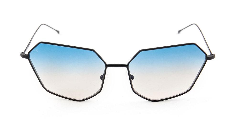 Cher C01 Black - L.Blue/L.Brown Degrade Zero Lens