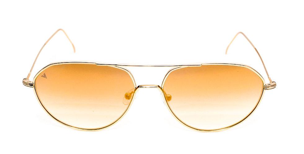 Edgar C04 Shiny Gold - Gold flash zero lens