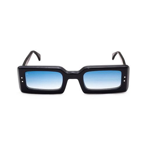 Nizza C01 Black - Blue degrade lenses