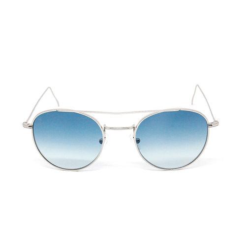 Gabi Evo C02 Shiny silver - Blue degrade zero lens