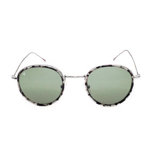 Miller C03 Shiny Dark Silver Granite - Green G15 Lens