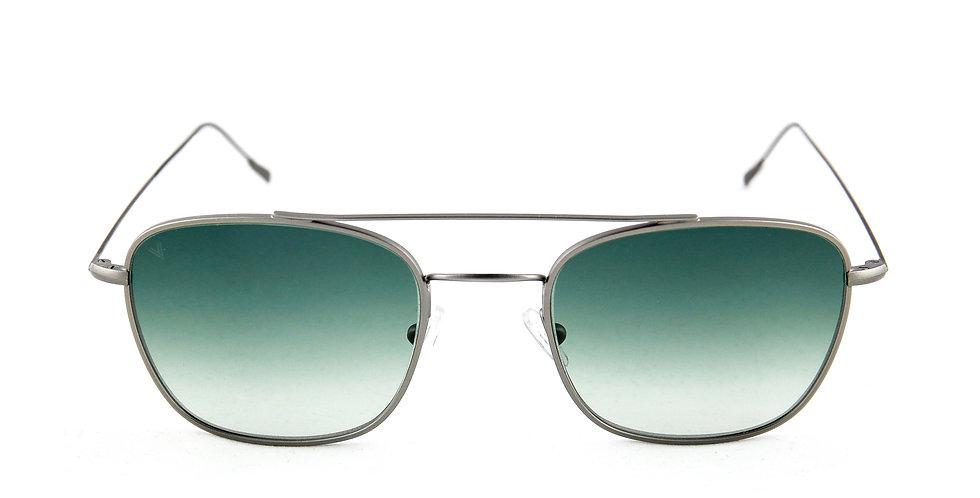 Capri C04 Gun metal - Green degrade lens