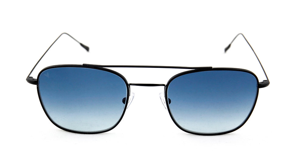 Capri C01 Black  - Blue degrade lens
