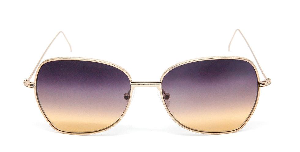 Amelie C05 Shiny red gold - Orange/violet/l.violet degrade zero lens