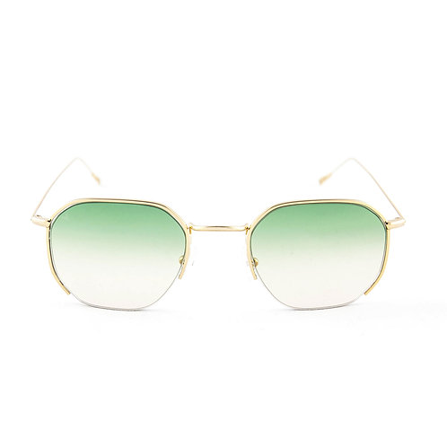 Emmy C06 Shiny yellow gold  - L.green degrade lens