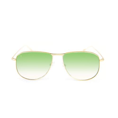 Tyler C06 Shiny gold - Green degrade lens