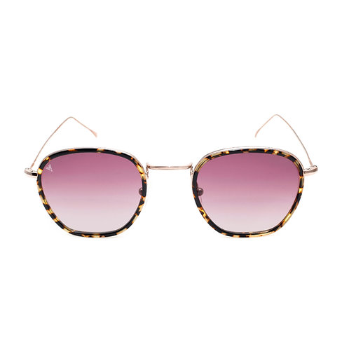 Jaime C05 Shiny Bronze Old Avana - Purple Degrade Lens