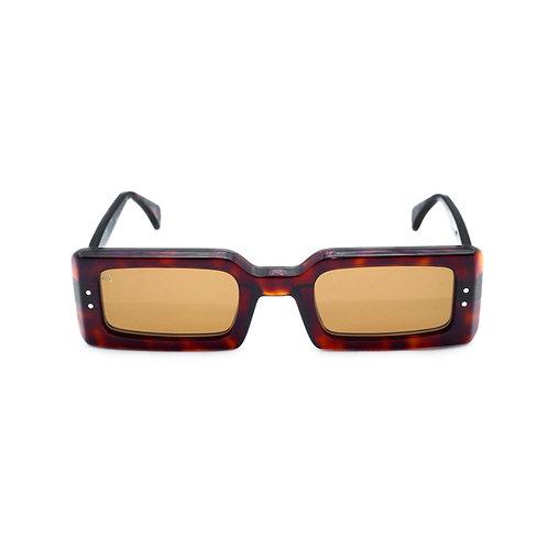Nizza C02 Dark Avana - Brown lenses