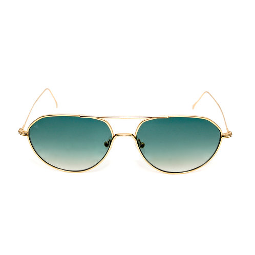 Edgar C03 Shiny Gold - Green degrade zero lens