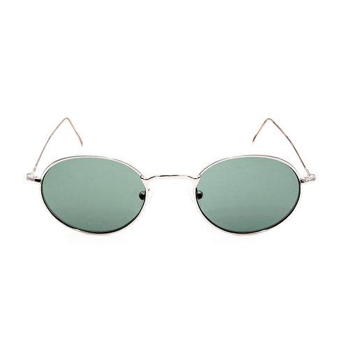 Lennon C02 Shiny Silver - Green G15 zero lens