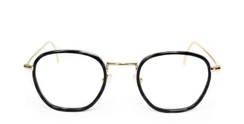 Jaime C01 Shiny gold & black