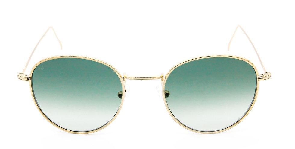 Gary C04 Shiny yellow gold - Green degrade zero lens