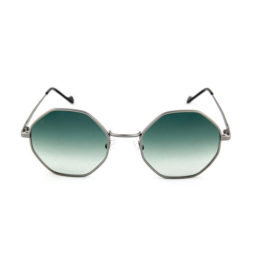 Cindy C03 Gun metal - Green degrade lens