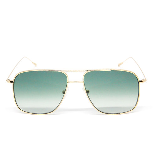 Myke C06 Shiny yellow gold - Green zero degrade lens