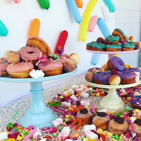 Donut Grazing Table