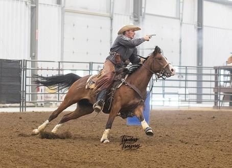 Arabian Horses and Mounted Shooting