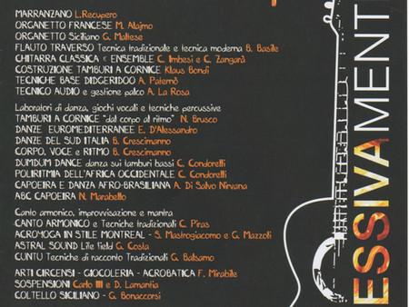 Workshop di flauto traverso dal 18 al 21 agosto al Parco Museo Jalari (ME)