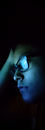 Thinking in the dark.