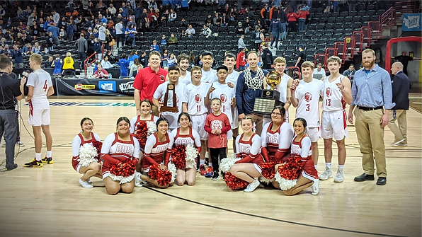 Brewster Basketball State Champions 2020