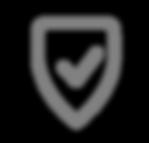Icono seguro - Gris
