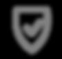 Icône sécurisé - Gris