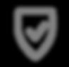 Sichere Icon - Grau