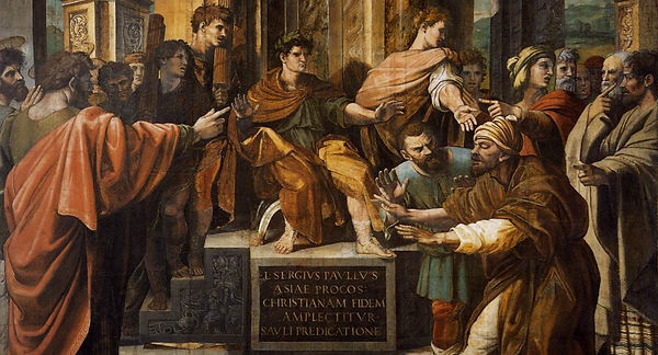 V&A_-_Raphael,_The_Conversion_of_the_Pro