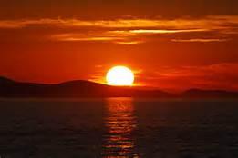 Un coucher de soleil coloré / Colourful Sunset