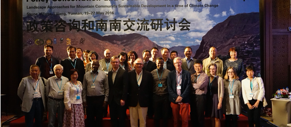 Landscape Approaches for Mountain Community Sustainable Development in a time of Climate Change