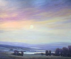 Purple Sunset, 50x60, o/c