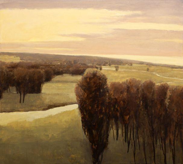 Skorut-purple sunset 45x50 SOLD