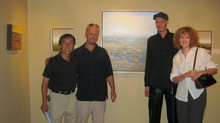 Opening of the show at Gallery 1261.