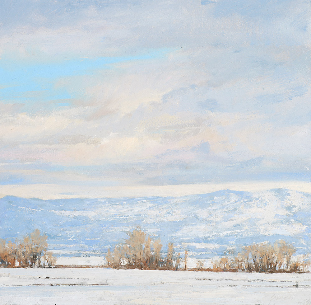 winter 12x12 Skorut painting