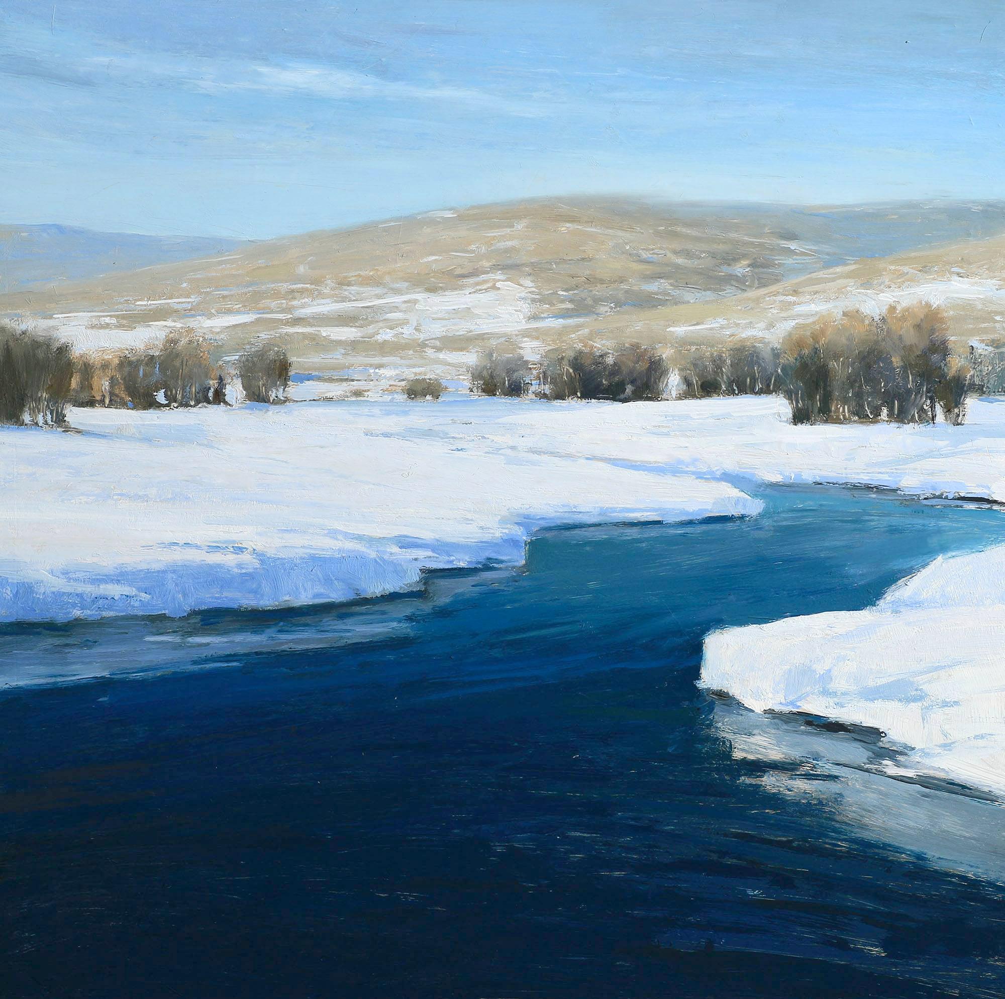 winter stream 14x14 Skorut