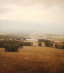 11-Serene landscape 60x50 oil on canvas.