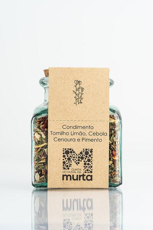 Condimento de Tomilho Limão, Cenoura, Pimento e Cebola