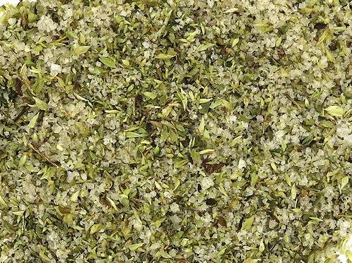 Flor de Sal com Orégãos - Granel