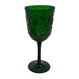 Acrylic Wine Goblet - Green