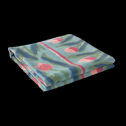 Block Printed Tablecloth 'Lambi Patti Tulip' *Rectangle