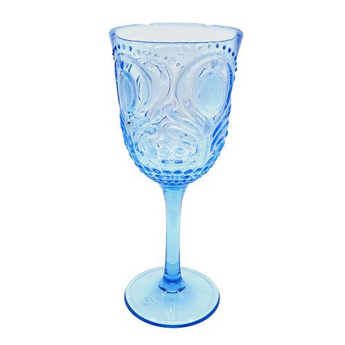 Acrylic Wine Goblet - Blue