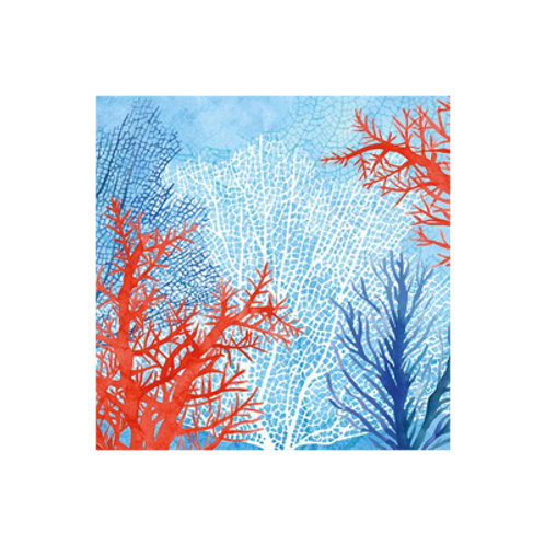 Cocktail Size Paper Napkins - The Ocean - 20 pack