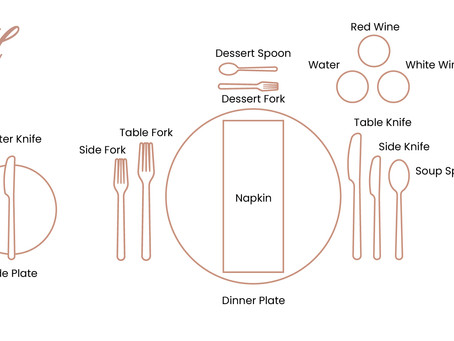 DO YOU KNOW THE CORRECT WAY TO SET A TABLE?