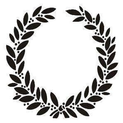 Vintage Laurel Wreath
