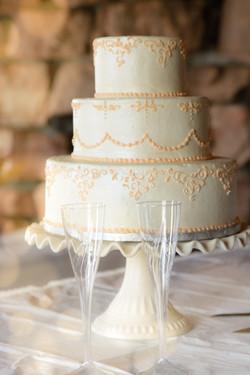 Boulder wedding cake